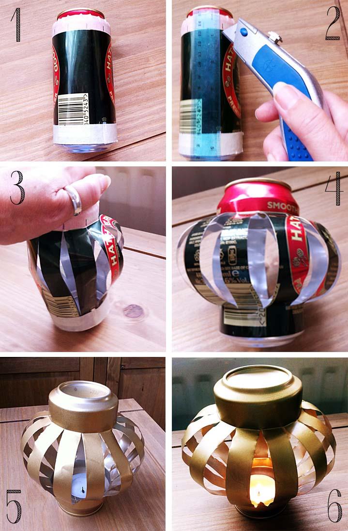 Coke Can Lanterns