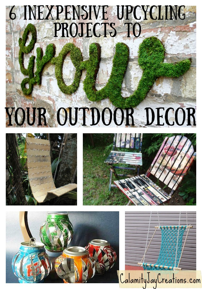 Grow Your Outdoor Decor with these 6 easy projects