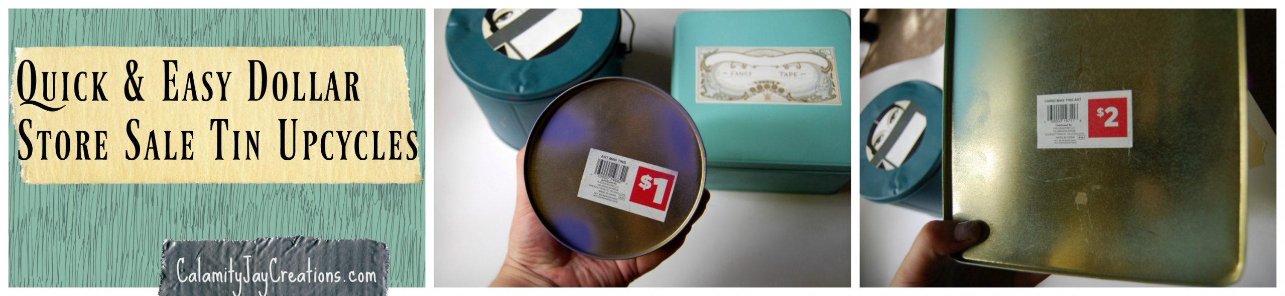 sale cookie tin upcycle redo reuse